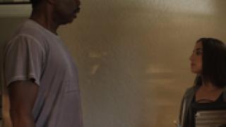 Harold Perrineau and Samantha Colichio in A MEDITATION