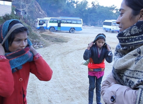 Devaki asking about Deuki at Achham